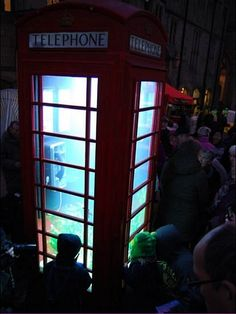 Phone Box - Lumiere Festival, Durham