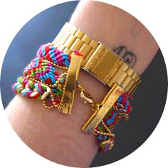 diy bracelet brésilien // bonjour darling