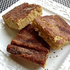 Snickerdoodle Blondies | Super easy. Great snickerdoodle taste with no fuss!