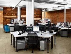 3pk open plan office #openplanoffice Cubicles.com