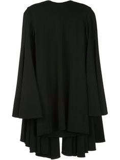 BRANDON MAXWELL cape dress. #brandonmaxwell #cloth #dress