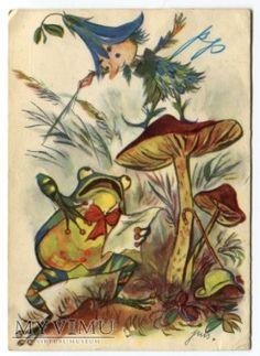 by Jan Marcin Szancer, a Polish artist and illustrator of children's books.