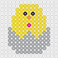 Biggie Beads Chick in Egg Project Sheet