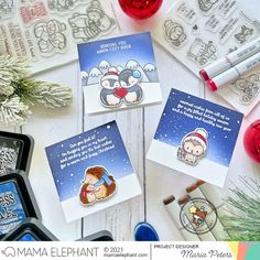 mama elephant | design blog: STAMP HIGHLIGHTS: Stay Warm