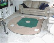 Baseball field rug- I need for my sports room!