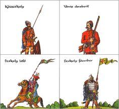 "székely haderő  székelyek (""seekeys"" are very old hungarians in carpathian basin) székely (say: ""seekei"" or  ""seekey"") (no szeklers) Szeklers, 17th century Napoleonic Wars, Modern Warfare, Eastern Europe, World History, 17th Century, Hungary, Croatia, Warriors, Renaissance"