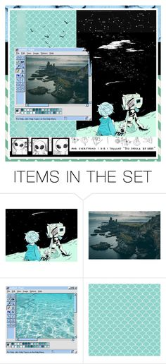 """""""end transmission"""" by artjsh ❤ liked on Polyvore featuring art"""