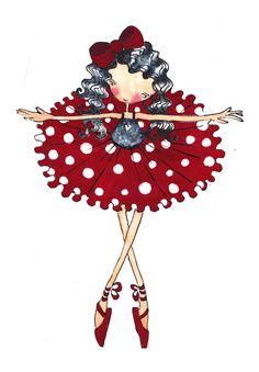 Bailarina motas