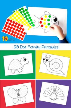 25 Dot Activity Printables