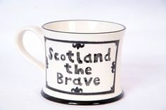 Scottish Highland Mug - Scotland the Brave