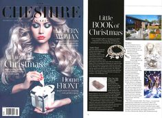 Our Aurora Bracelet Stack featured in Cheshire Magazine December 2017 The Cheshire, Annie, Aurora, Sterling Silver Jewelry, December, Charmed, Magazine, Bracelets, Earrings