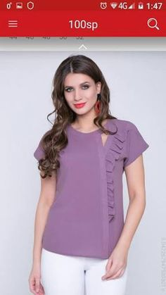 - Looks are Everything Sleeves Designs For Dresses, Dress Neck Designs, Blouse Designs, Fashion Wear, Fashion Dresses, Sewing Blouses, Girl Dress Patterns, Blouse Models, Blouse Dress