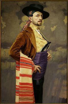 Edward Okun (27 septembrie 1872 – 1945), pictor simbolist polonez