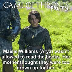 Rory Mccann, Fantasy Shows, Game Of Thrones Facts, Game Of Trones, Beautiful Series, Maisie Williams, Winter Is Coming, The Hobbit, Growing Up