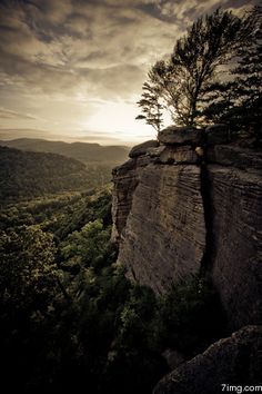 A beautiful view - Indian Fort Mountain near Berea, Kentucky
