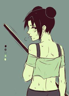 I adore TenTen--she's my favorite kunoichi after Sakura :)