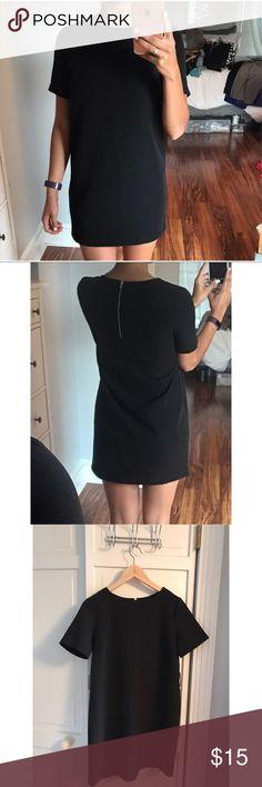 Black dress with belt Black dress with belt forever 21 Dresses Mini