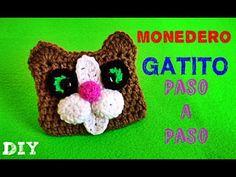 Gatito Monedero TEJIDO !! Kitten Coin Purse!! CROCHET - YouTube