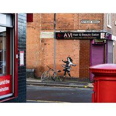 Instagram post by Banksy • Oct 17, 2020 at 9:15am UTC Banksy Artwork, Graffiti Wall Art, Street Art Graffiti, Nottingham, Bristol, Street Art News, Street Artists, Photo Instagram, Instagram Posts