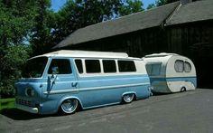 Cool van and camper