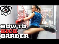 cool Ways to Kick Harder: Muay Thai Power Kicking Drill
