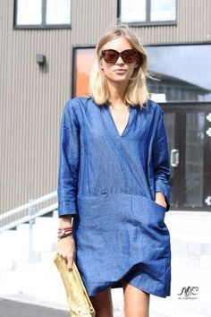Look! Джинсовые платья! 3