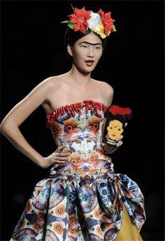 moda inspirado en frida