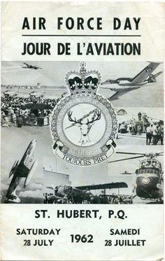 Air Force Day 1962 - St. Hubert, Quebec