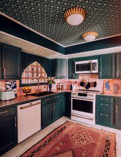 Home Improvement Loans, Interior Decorating, Interior Design, House Rooms, Home Kitchens, Kitchen Remodel, Designer, Kitchen Decor, Green Kitchen