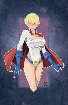 Powergirl by Randy Kintz
