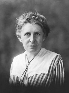 """Ida Tarbell.  Ida Tarbell, a leading """"muckracking"""" journalist of the Progressive Era, died today in 1944. Learn more about women in the Progressive Era:"""
