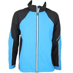 Galvin Green Amos Waterproof Golf Jacket Black-Summer Sky | Golfposer Golf Jackets, Summer Sky, Mens Golf, Adidas Jacket, Athletic, Green, Black, Fashion, Moda