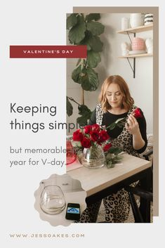 #ad Valentine's Day kept simple, beautiful and affordable with #Albertsons this year and #debilillydesign x Valentines collection chop and drop bouquets and vases.. Easy to grab and beautiful in your home.
