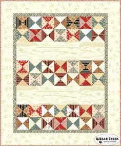 Little House on the Prairie - Broken Dishes Free Quilt Pattern