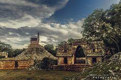 Labna Mayan Ruins - Yucatan Mexico