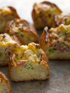 Baked Egg Boats - Easter Brunch