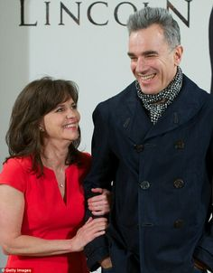 Sally Field and Daniel Day Lewis