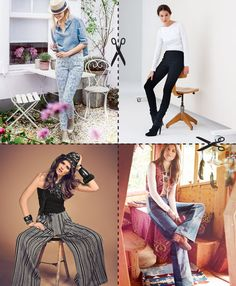 Top 10 Trouser Patterns + Tips for Sewing Your Own Jeans