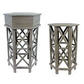Found it at Joss & Main - 2-Piece Daisy End Table Set