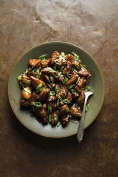 Steamed Asparagus, How To Cook Asparagus, Chicken Milk, Lemon Chicken, Healthy Meats, Healthy Recipes, Street Chicken, Caramel Chicken, Skirt Steak Recipes