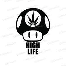 I/'d Hit That Weed Marijuana Bong Decal Vinyl Sticker Macbook Laptop Car Window