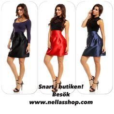 Vackra kjolar i tre färger. Strapless Dress, Designers, Shopping, Dresses, Fashion, Fashion Styles, Strapless Gown, Vestidos, Moda
