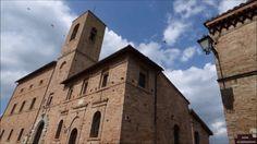 Sarnano, Palazzo del Popolo e Chiesa di santa Maria in Piazza Alta no ma...