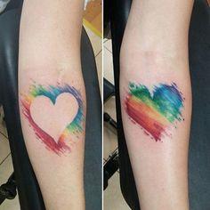 Tattoos From Around The World – Voyage Afield Pretty Tattoos, Love Tattoos, Body Art Tattoos, Small Tattoos, Gay Pride Tattoos, Gay Tattoo, Sister Tattoos, Best Friend Tattoos, Stolz Tattoo