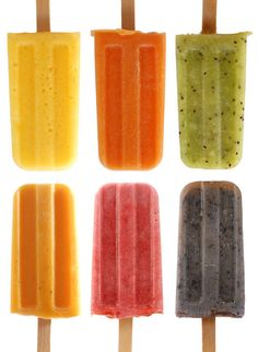 Summer, so cool, put the fruit in the blender or juicer put in the popcicle tray freeze them tada enjoy
