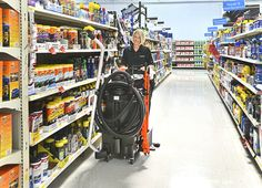 With this OmniFlex™ system you get hard surface floors really clean, really fast - at a fraction of the cost. It´s perfect for high speed cleaning of even the most challenging areas in your facility. Cleaning Cart, Speed Cleaning, High Speed, Floors, Vacuums, Surface, Future, Green