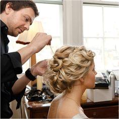 Bride hair...love this!