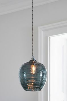 Buy Drizzle Easy Fit Pendant from the Next UK online shop Hall Lighting, Kitchen Ceiling Lights, Kitchens And Bedrooms, Next Uk, Uk Online, Plating, Chrome, Bulb, Pendant