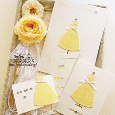 「美女と野獣」のベルのイメージ♡ 黄色のおしゃれな席次表一覧。結婚式の席次表まとめ。