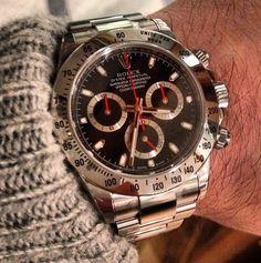 Daytona - Click pics for price Rolex Daytona Watch, Rolex Cosmograph Daytona, Cool Watches, Rolex Watches, Accessories, Anonymous, Luxury Watches, Bracelet Watch, Jewelry Accessories